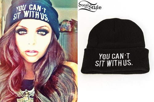 """Jesy Nelson: """"You Can't Sit With Us"""" Beanie   Steal Her Style"""