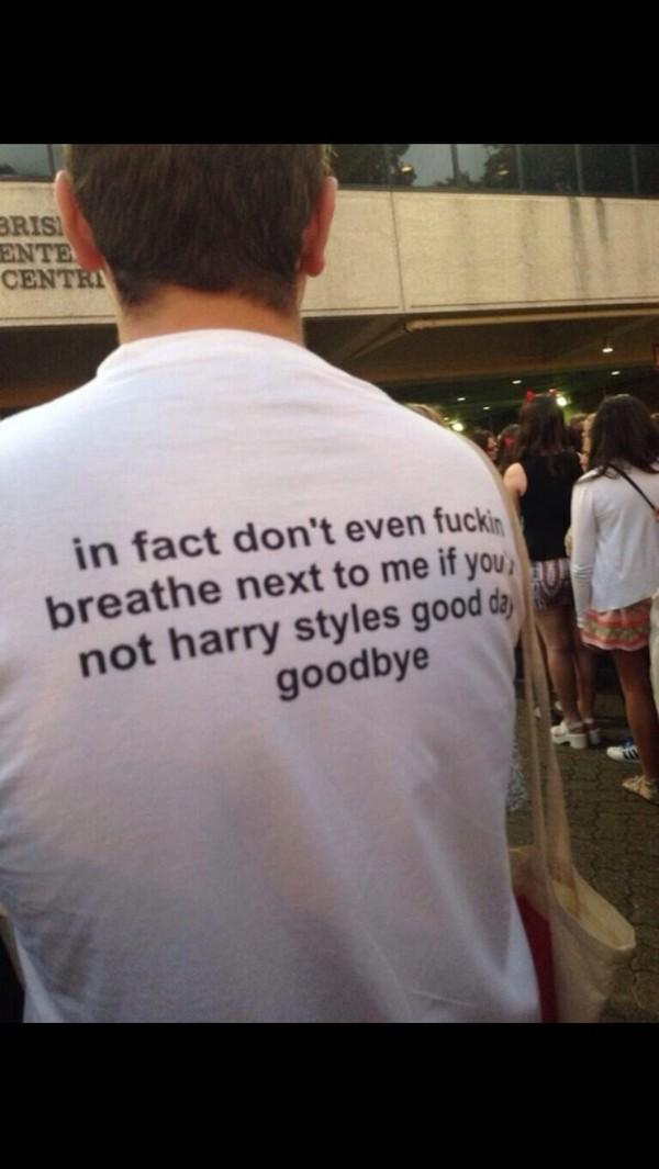t-shirt harry styles life