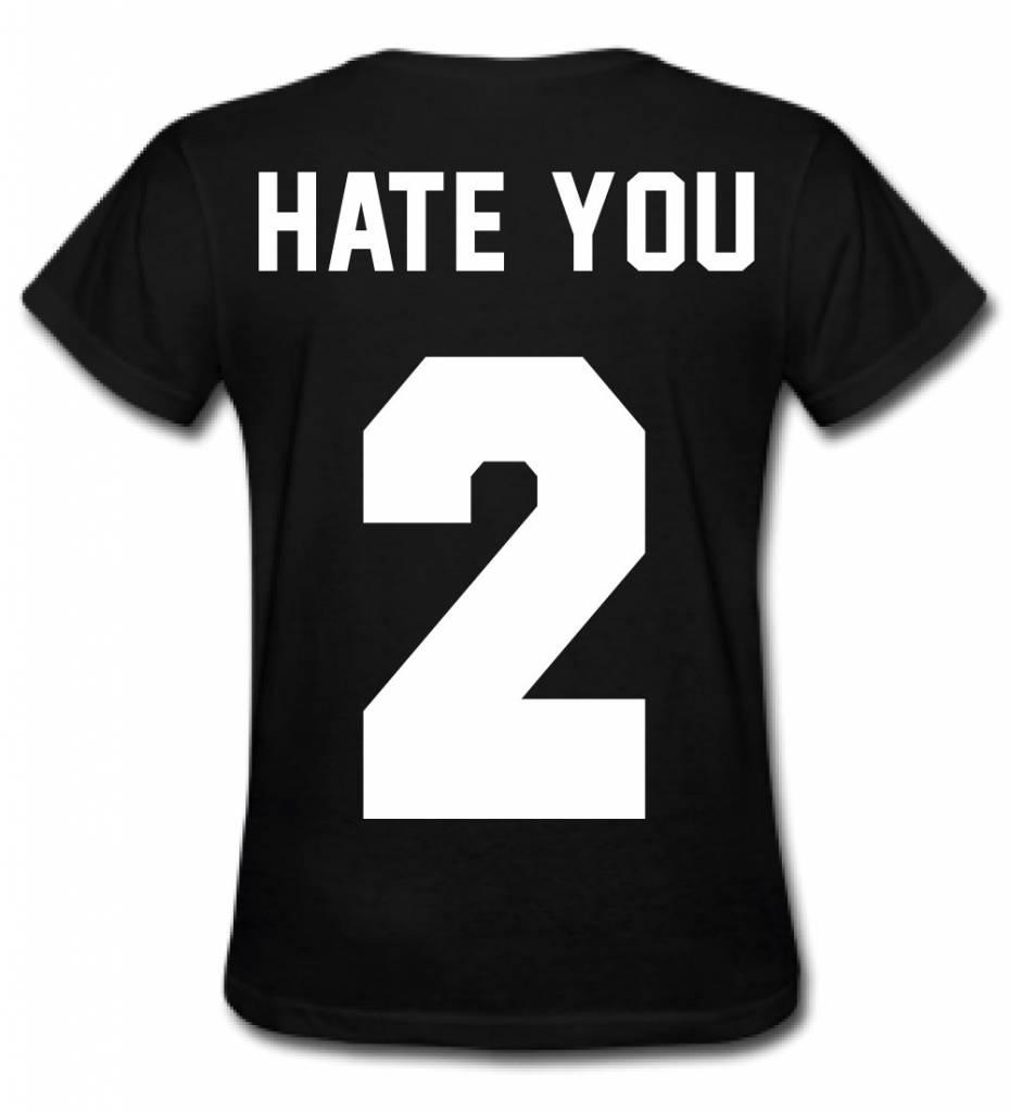 HATE YOU 2 TEE (WMN) - SUGAR&spikes