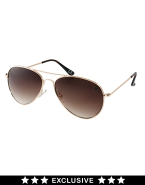 Vans | Vans Exclusive to ASOS Aviator Sunglasses at ASOS
