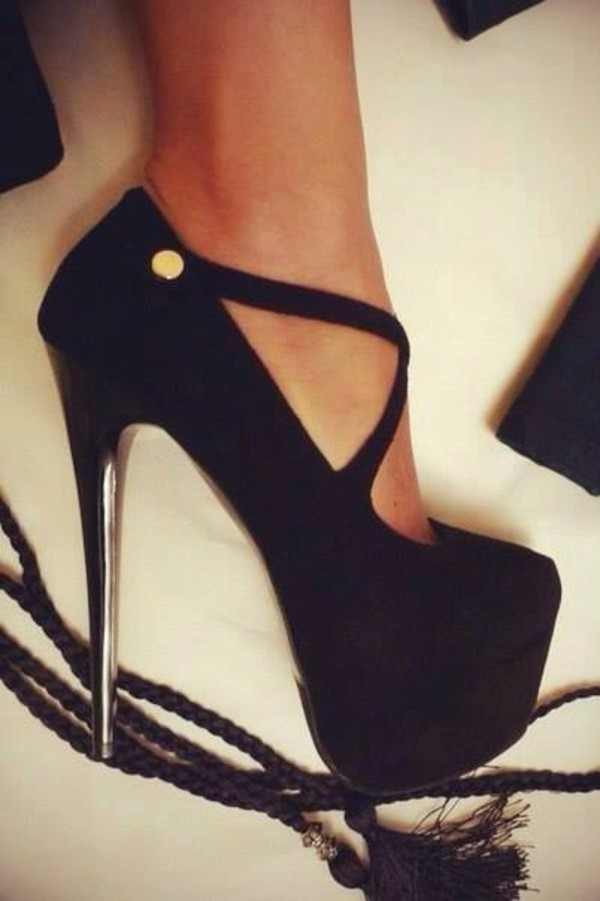 shoes hight heels straps black perfect dream high heels high heels