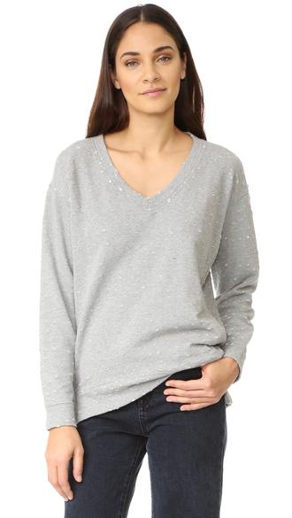 t-shirt fashion clothes french terry bobi distressed skinny jeans sweatshirt dress
