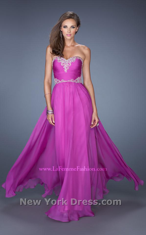 La Femme 19372 Dress - NewYorkDress.com