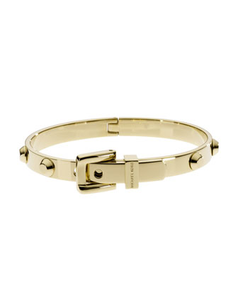 Michael Kors Astor Buckle Bangle, Golden - Michael Kors