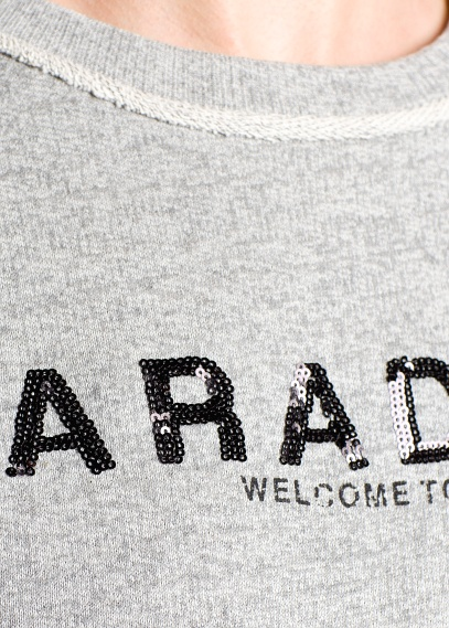 MANGO - CLOTHING - Cardigans and sweaters - Paradise sequin sweatshirt