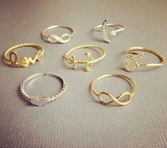 jewels ring infinity infinity ring