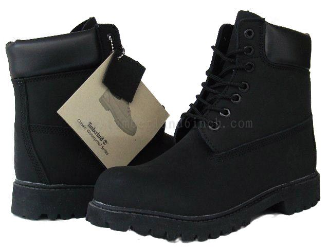 Timberland TB886 - 491 Hommes 6 bottes noires à prix discount