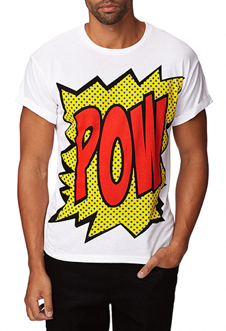 Pow Comic Tee | FOREVER 21 - 2075373591