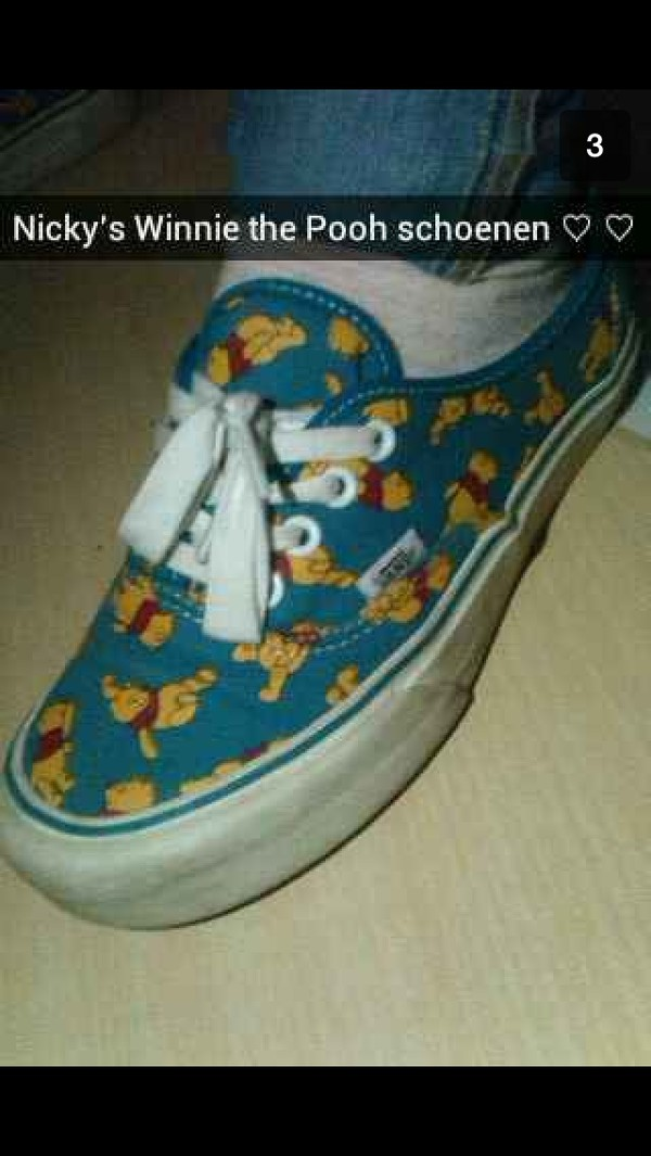 shoes winnie the pooh vans