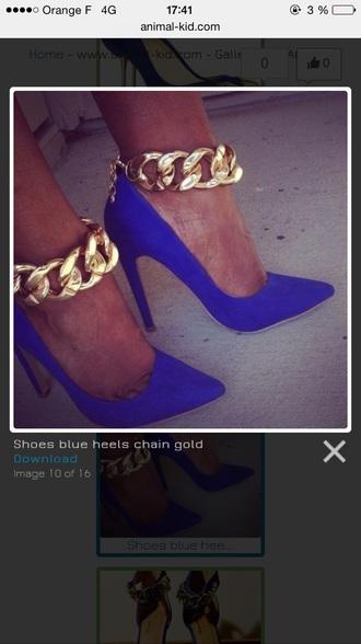 shoes blue heel heels electric blue cobalt blue cobalt electric hair accessory