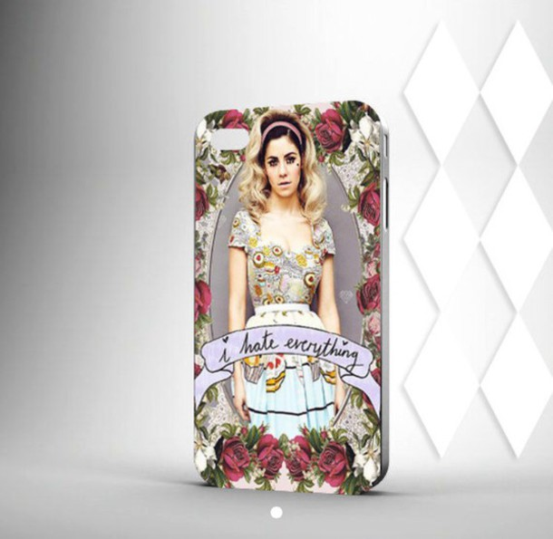 phone cover marina and the diamonds