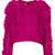 Knitted Marabou Feather Jumper - Knitwear  - Clothing  - Topshop