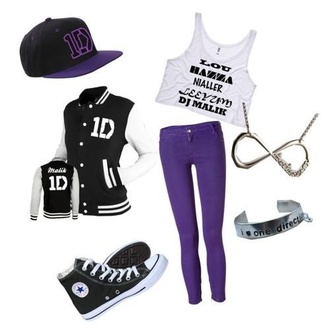 jewels one direction jewelry ring necklace infinity t-shirt jacket hat