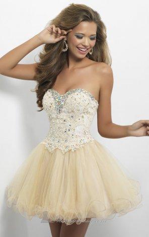 Sweetheart Net Dress by Blush by Alexia|Alexia 9652|Blush by Alexia