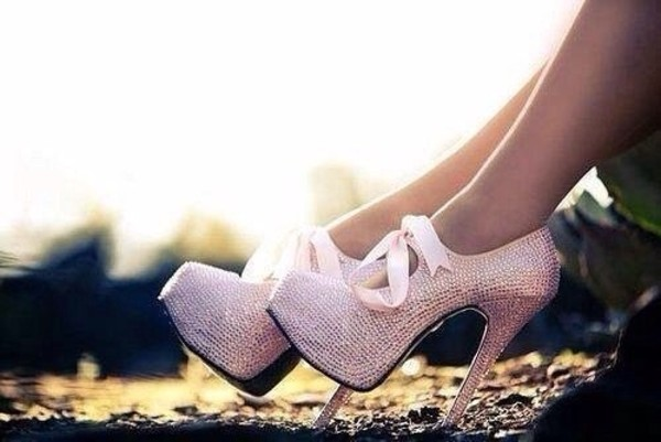 shoes pink glitter shoes pretty