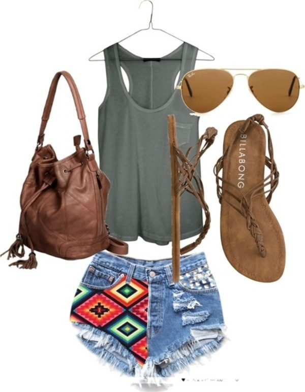 shorts nice beautiful outfit weheartit shoes bag
