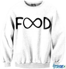 Infinite Food Crewneck - Fresh-tops.com
