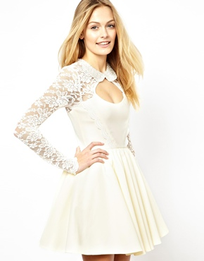 Tempest   Tempest Lace Day Dream Prom Dress at ASOS