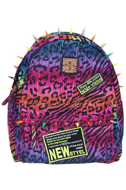 ROMWE | Rainbow Print Bag, The Latest Street Fashion