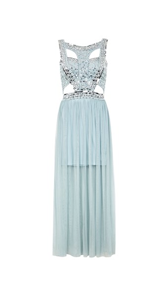 casual - Sequin Stud Maxi Dress - Smith & Caughey's