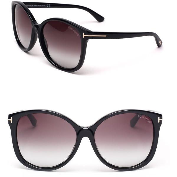 Tom Ford Alicia Sunglasses - Polyvore