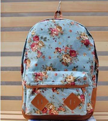Let's Shop!: Floral Backpacks