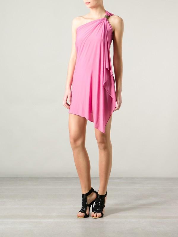 dress one shoulder dress plein sud