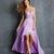 Chiffon High Low Sweetheart Beadings Prom Dress PD11394
