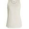 Scoop-neck cotton-jersey tank top