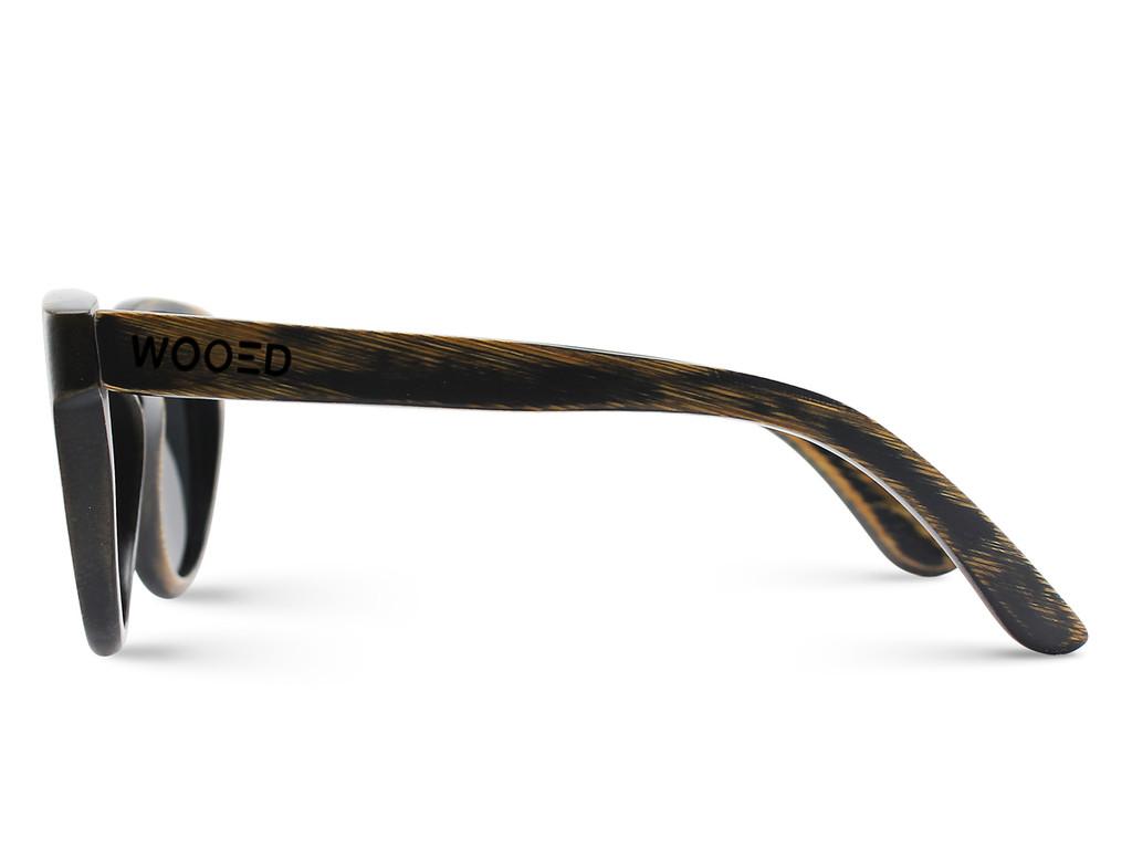 Limón | Weathered Black Bamboo Sunglasses