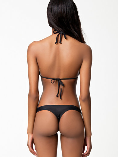 Thong Bikini Bottom - Wonderland - Black - Bikinis - Swimwear - Women - Nelly.com Uk
