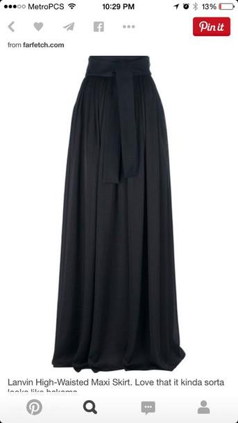 skirt high waist max skirt.
