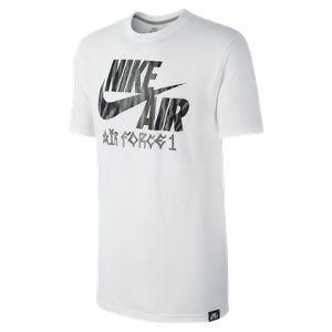 Nike Store Deutschland. Nike Basketball Air Force 1 Muster Herren-T-Shirt