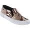 Steve madden blonde salad nyc-s slip-on sneaker natural snake - jildor shoes, since 1949