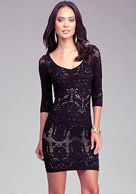 bebe | One Shoulder Lace Dress - Dresses - Dresses Under $100