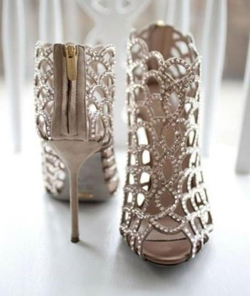 Shoes: high heels, sandals, style, silver shoes, pll ice ball ...