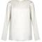 Crew-neck silk-satin blouse | raey | matchesfashion.com us