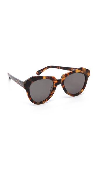 Karen Walker The Number One Sunglasses   SHOPBOP