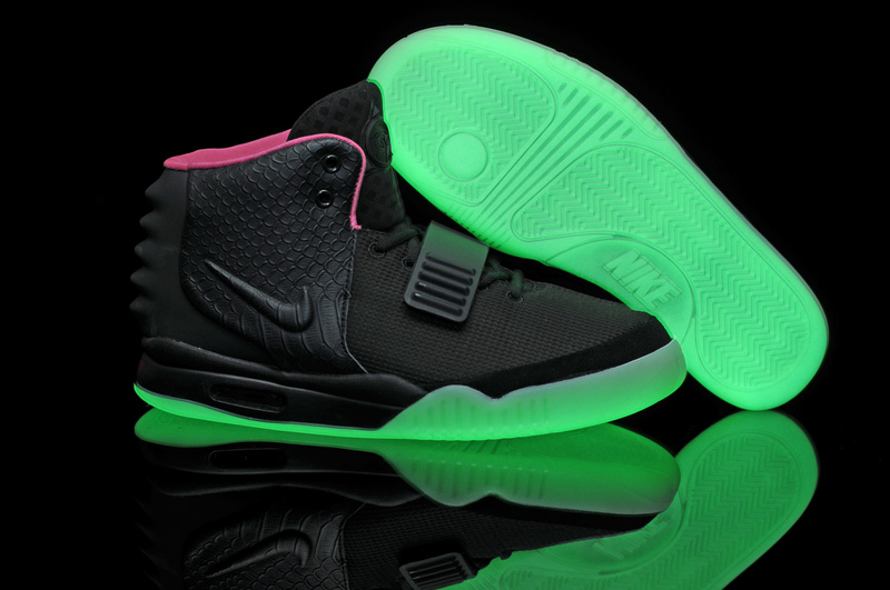 cheap nike shoes glow in the dark KANYE WEST for sale