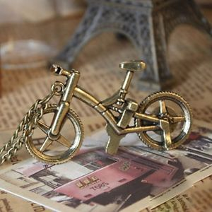 New Vintage Retro Bicycle Bike Sport Pendant Long Chain Necklace Jewellery Gift | eBay