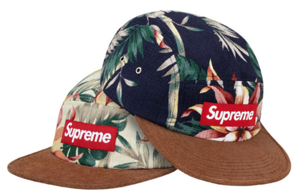 hat supreme 5panel floral cool swag hats
