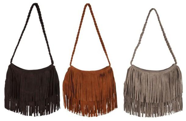 bag fringe purse handbag purse fringed bag