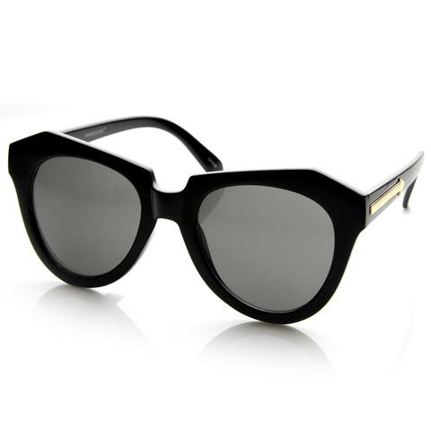 Oversize Designer Inspired Womens Fashion Sunglasses 8445                             zeroUV