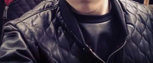 jacket leather jacket leather menswear fashion black
