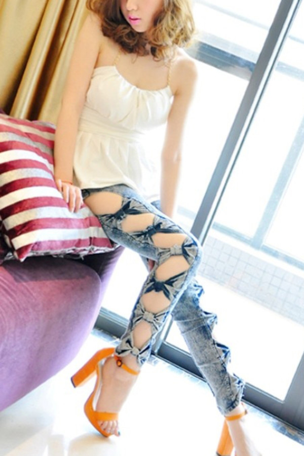 jeans swag denim denim jacket girls hbo custom