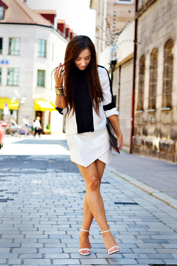flirting with fashion blouse shorts shoes bag