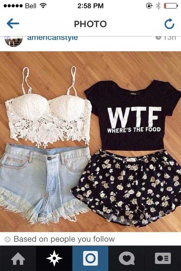 white tank top crop tops crop tops crochet crochet crop top bralette skirt instagram wtf