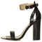 Rhodium metal trim heels - heels  - shoes  - topshop