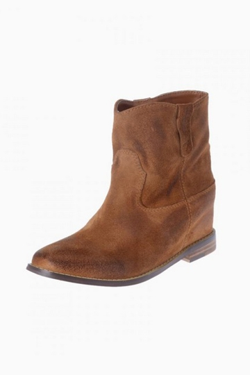 Vintage Simple Design Leather Ankle Boots [HXM888]- US$142.99 - PersunMall.com