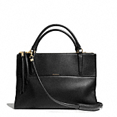Coach :: THE BOROUGH BAG IN PEBBLED LEATHER
